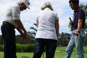 Night golf lessons at pittwater golf centre