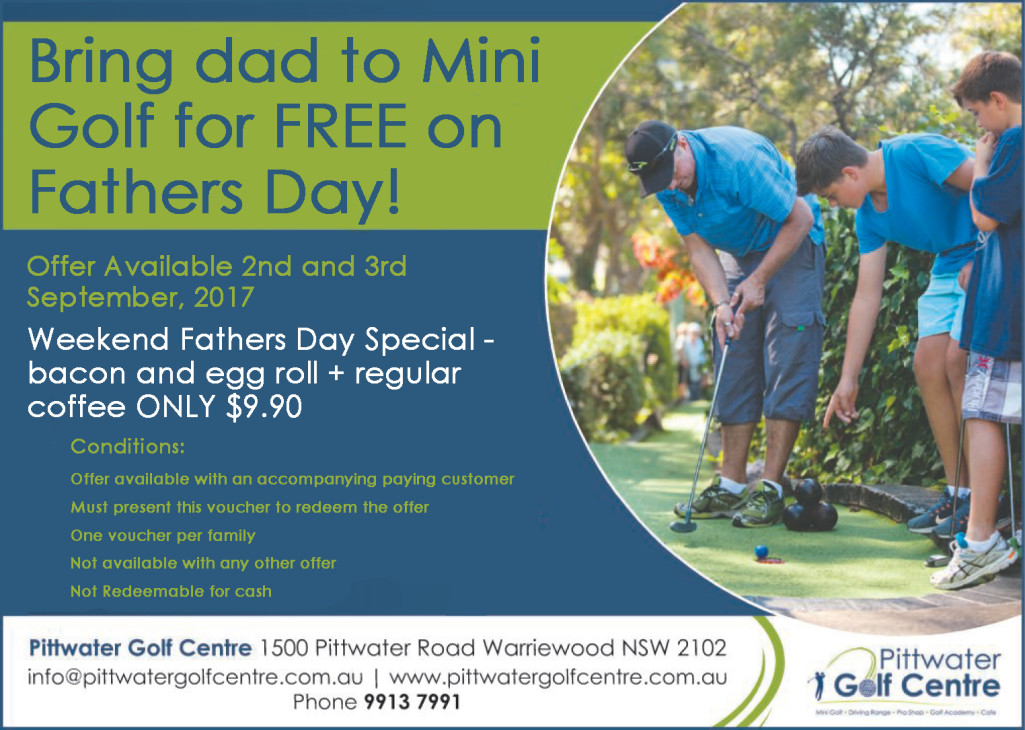 Fathers day promo 2017
