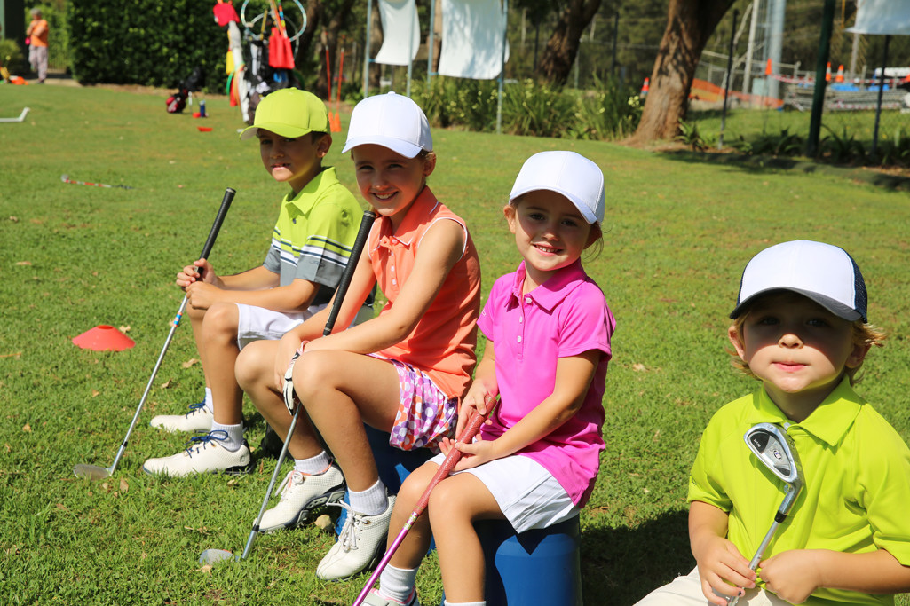 Golf Lesson Kids Pittwater Golf Centre